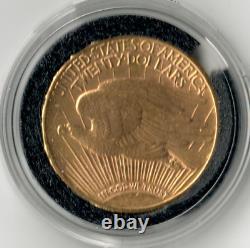 $20 1925 Saint-Gaudens Double Eagle Uncirculated Detail