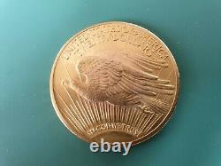 20 Dollar Goldmünze American Eagle, USA 1922, 1 oz Gold, St Gaudens Double Eagle