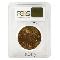 $20 Gold Double Eagle Saint Gaudens PCGS MS 64 (Random Year)