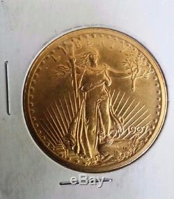 $20 Gold St. Gaudens 1907 Double Eagle new pics added