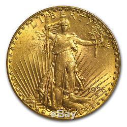 $20 Saint-Gaudens Gold Double Eagle MS-61 PCGS (Random) SKU #45874