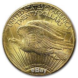 $20 Saint-Gaudens Gold Double Eagle MS-63 PCGS (Random) SKU #7223