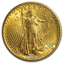 $20 Saint-Gaudens Gold Double Eagle MS-64 PCGS (Random) eBay2 SKU#153314