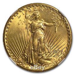 $20 Saint-Gaudens Gold Double Eagle MS-65+ NGC (Random)