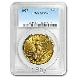 $20 Saint-Gaudens Gold Double Eagle MS-66+ PCGS (Random) SKU#98105
