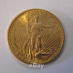20 $ Twenty Dollars Goldmünze Double Eagle Saint Gaudens USA 1922