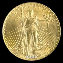 20 saint gaudens gold double eagle ms62