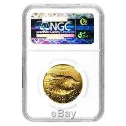 2009 1 oz $20 Ultra High Relief Saint-Gaudens Gold Double Eagle NGC MS 70 PL