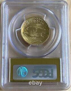 2009 $20 Gold Ultra High Relief Double Eagle PCGS MS70 Saint Gaudens Gold Foil