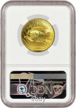 2009 $20 Ultra High Relief St Gaudens Double Eagle 1 oz. 9999 Fine Gold NGC MS70