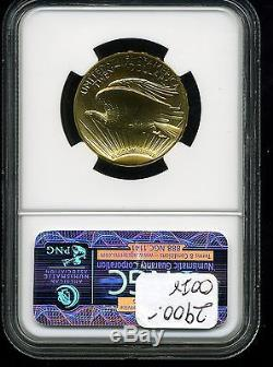 2009 G$20 Saint-Gaudens Ultra High Relief Double Eagle MS69 NGC