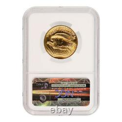 2009 St Gauden Double Eagle Ultra High Relief $20 Gold NGC MS70