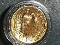 2009 US $20 Saint Gaudens Gold 1oz Ultra High Relief Double Eagle OGP, box & COA