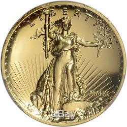 2009 US Gold $20 Ultra High Relief Double Eagle PCGS MS70 PL St Gaudens Label
