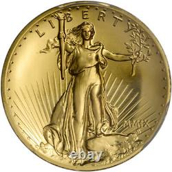 2009 US Gold $20 Ultra High Relief Double Eagle PCGS MS70 St. Gaudens Label