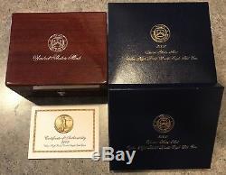 2009 Ultra High Relief $20 Saint Gaudens Double Eagle with OGP, COA, Book