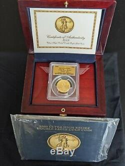 2009 Ultra High Relief UHR Saint Gaudens $20 Gold Double Eagle PCGS MS 70 PL