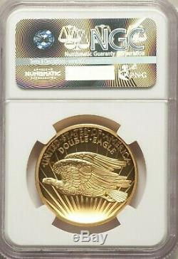 2017 Saint Gaudens 1oz Double Eagle Indian High Relief Gold Proof NGC PF70