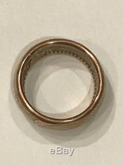 Beautiful Gold Coin Ring Handcrafted From A 1927 $20 Saint Gaudens Double Eagle