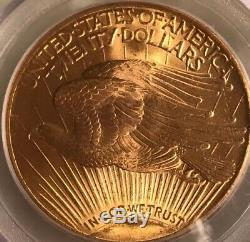 Blazing 1927 $20 St Gaudens PCGS MS66 GEM Philadelphia Gold Double Eagle