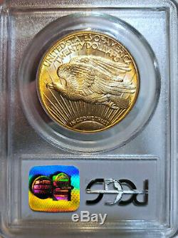 GORGEOUS! MS-65 1910-D PCGS $20 St. Saint Gaudens Double Eagle Gold