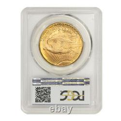 KEY DATE 1931 $20 Saint Gaudens PCGS MS65 PQ Approved Gem Gold Double Eagle