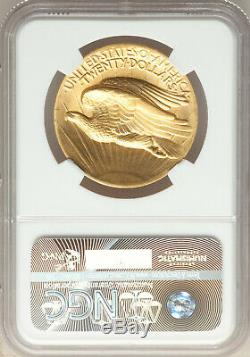 Key Date 1907 High Relief Wire Rim MS66+ NGC $20 St Gaudens Gold Double Eagle