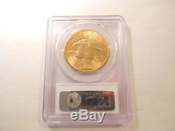 Lustrous PCGS 1923-D MS-64 MS64 St. Gaudens $20 Double Eagle Gold Coin G$20