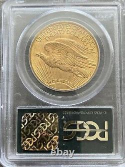 M13691- 1912 $20 Gold Saint Gaudens Double Eagle Pcgs Ms63 Ogh