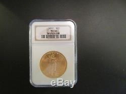 Near Gem! 1922 $20 Saint St. Gaudens Gold Double Eagle NGC MS 64 Beautiful