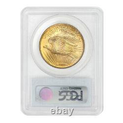 ONLY 54 FINER! 1907 $20 St. Gaudens PCGS MS66 Gold Double Eagle Saint gem coin