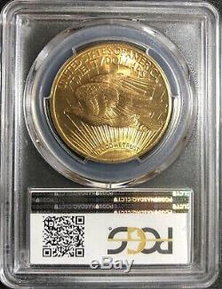 PCGS 1926 MS65 Saint Gaudens Double Eagle Gold, Magnificent Luster! Very PQ