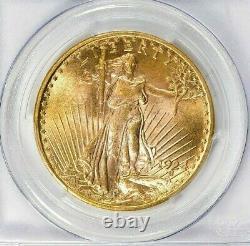 Rare- 1924 Saint-gaudens Gold Double Eagle Pcgs Ms 64 + Gemmm $2,988.88