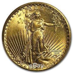 SPECIAL PRICE! $20 Saint-Gaudens Gold Double Eagle MS-63 PCGS (Random)