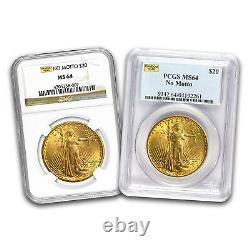 SPECIAL PRICE! Saint-Gaudens Gold Double Eagle MS-64 NGC/ PCGS (Random)