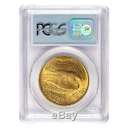 Sale Price $20 Gold Double Eagle Saint Gaudens NGC/PCGS MS 63 (Random Year)