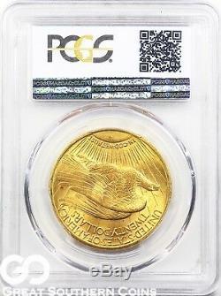 U. S. Gold, $20 St. Gaudens Double Eagle PCGS MS 64 Random Dates