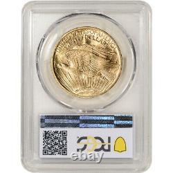 US Gold $20 Saint-Gaudens Double Eagle PCGS MS61 Random Date