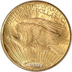 US Gold $20 Saint-Gaudens Double Eagle PCGS MS66 Random Date
