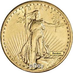 US Gold $20 Saint-Gaudens Double Eagle XF Random Date